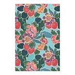 SONOMA Goods for Life® Floral Indoor/Outdoor Area and Throw Rug