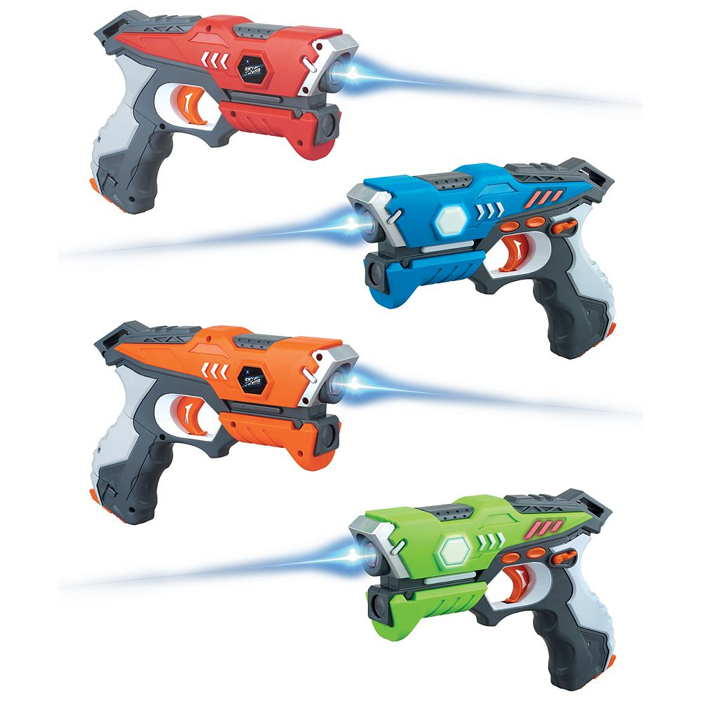 Sky Blaster Laser Tag 4-Blaster Set