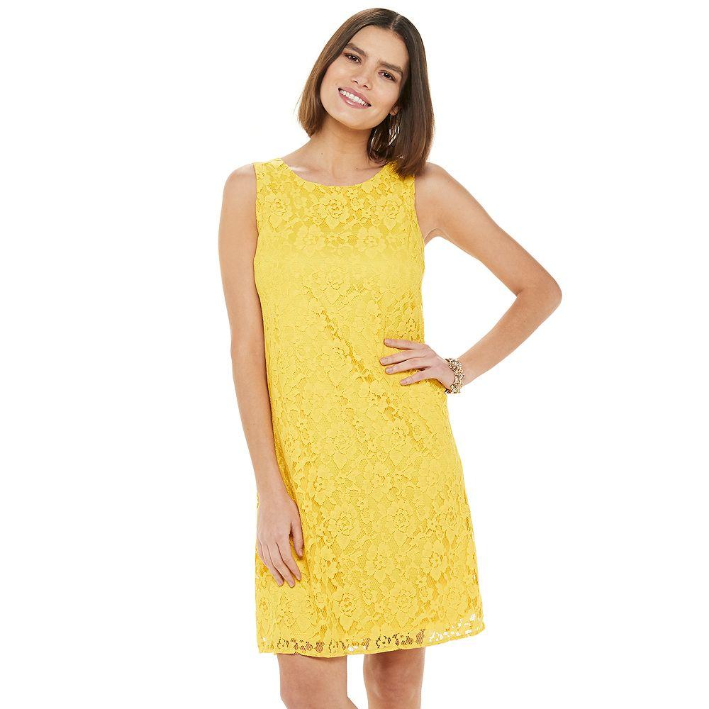 Women's Apt. 9® Lace Shift Dress