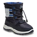 Rugged Bear Badge Toddler Boys' Winter Boots