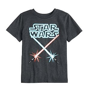 Boys 4-12 Jumping Beans® Star Wars Lightsabers Graphic Tee