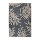 World Rug Gallery Bahama Palm Indoor Outdoor Rug