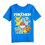 Boys 4-12 Jumping Beans® Pokemon Four Square Tee