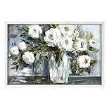 New View Gifts & Accessories White Floral Reverse Box