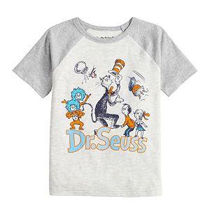 Boys 4-12 Jumping Beans® Dr. Seuss Raglan Tee