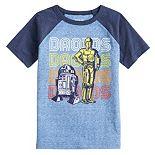 Boys 4-12 Jumping Beans® Star Wars Droids Raglan Tee