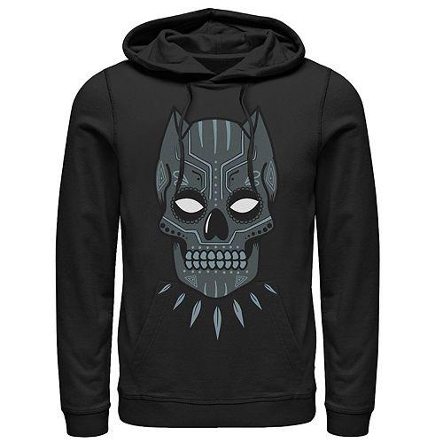 Men's Marvel Black Panther Sugar Skull Graphic Hoodie