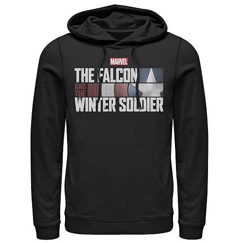 Men's Marvel The Falcon And The Winter Soldier Shield Logo Hoodie