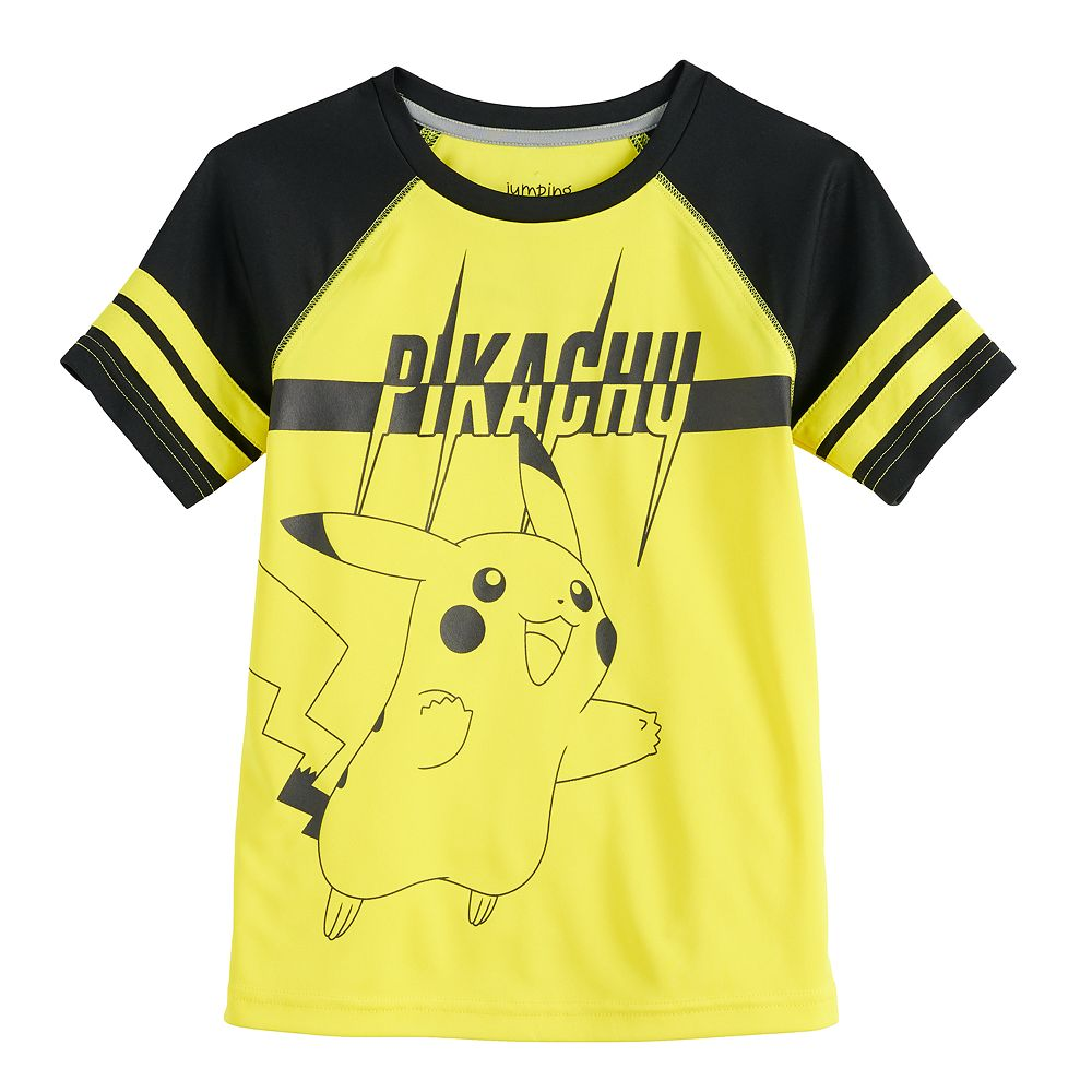 Boys 4-12 Jumping Beans® Pokemon Pikachu Active Raglan Tee