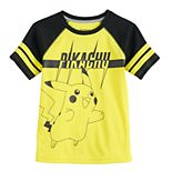 Boys 4-12 Jumping Beans® Pokemon Pikachu Active Raglan Tee