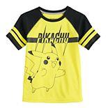 Boys 4-12 Jumping Beans® Pokemon Pikachu Raglan Tee