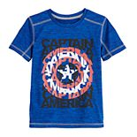 Boys 4-12 Jumping Beans® Marvel Captain America Active Tee