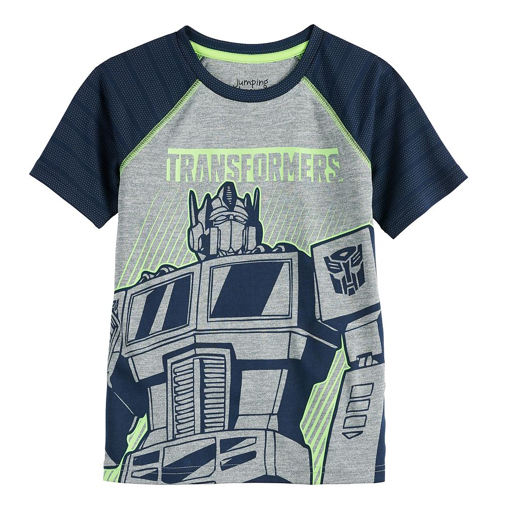 Boys 4-12 Jumping Beans® Transformers Active Raglan Tee