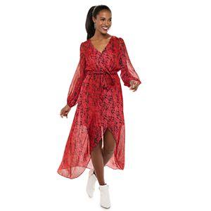 Women's Jennifer Lopez Wrap Maxi Dress