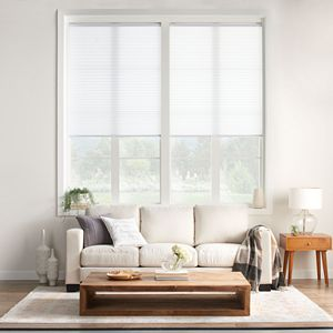 Sonoma Goods For Life® Cordless Light filtering Pleated Shade