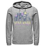 Men's Star Wars The Rise of Skywalker Vintage Collage Graphic Hoodie
