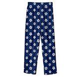 Youth Blue Toronto Maple Leafs Team Logo Printed Pajama Pants