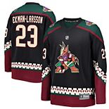 Youth Fanatics Branded Oliver Ekman-Larsson Black Arizona Coyotes Premier Breakaway Player Jersey
