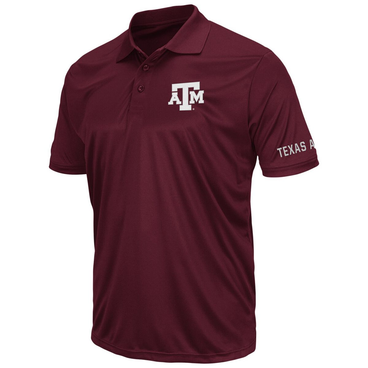 Men's Colosseum Maroon Texas A&M Aggies Big And Tall Stance Polo SbaHJ