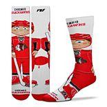 Youth For Bare Feet Chicago Blackhawks Bobble Head Quarter-Length Socks