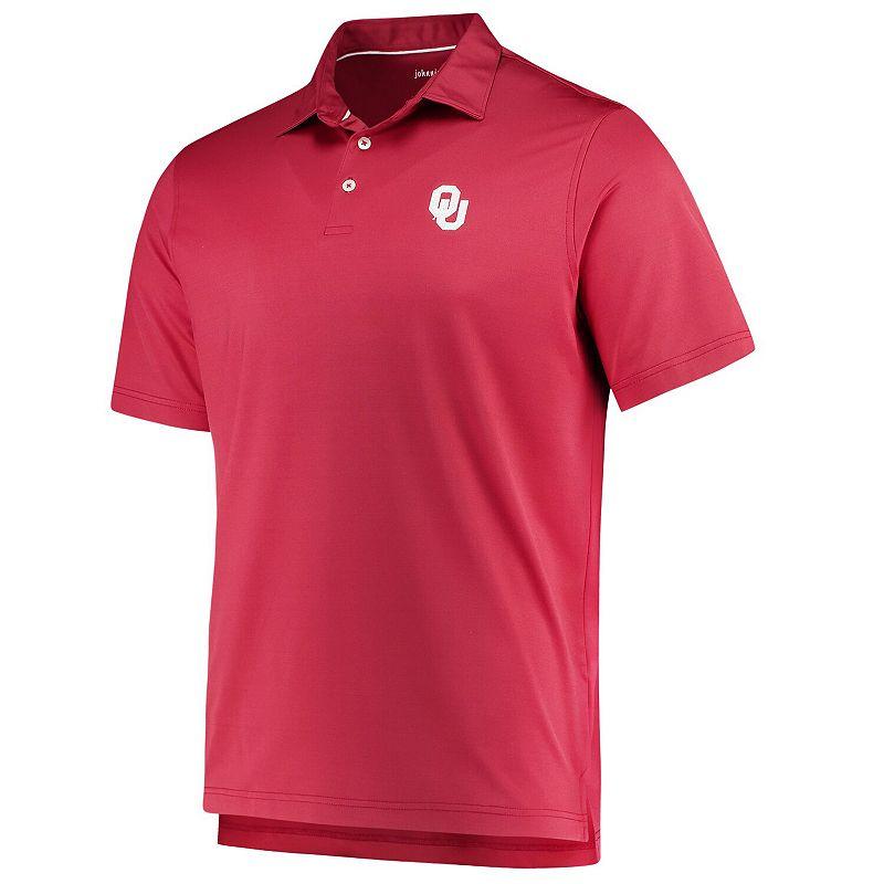 Men's johnnie-O Crimson Oklahoma Sooners NCAA Birdie Polo, Size: Large, Red