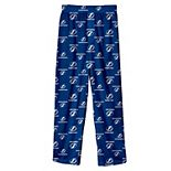 Youth Blue Tampa Bay Lightning Team Logo Printed Pajama Pants