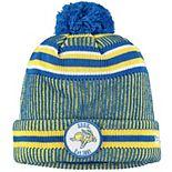 Men's New Era Yellow South Dakota State Jackrabbits Sideline Home Cuffed Knit Hat