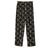 Youth Black Pittsburgh Penguins Team Logo Printed Pajama Pants