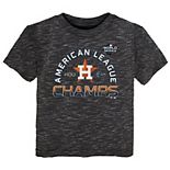 Toddler Fanatics Branded Charcoal Houston Astros 2019 American League Champions Locker Room T-Shirt