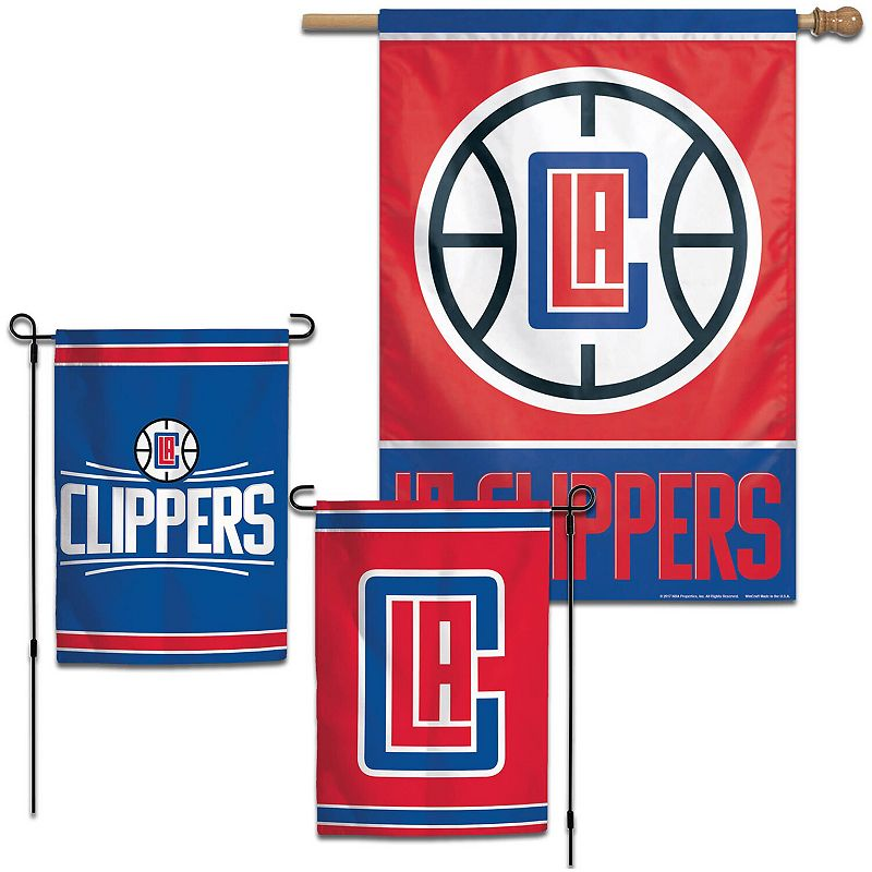 WinCraft LA Clippers House and Garden Flag Pack