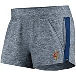 Women's Fanatics Branded Heathered Navy Cleveland Cavaliers Made to Move Shorts
