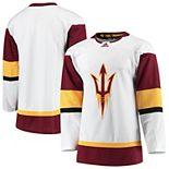 Men's adidas White Arizona State Sun Devils Collegiate Hockey Jersey