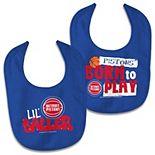 Newborn & Infant WinCraft Detroit Pistons 2-Pack Bib Set