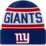 Youth New Era Royal/White New York Giants Stated Cuffed Knit Hat