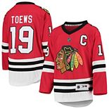 Youth Red Jonathan Toews Chicago Blackhawks Home Replica Player Jersey