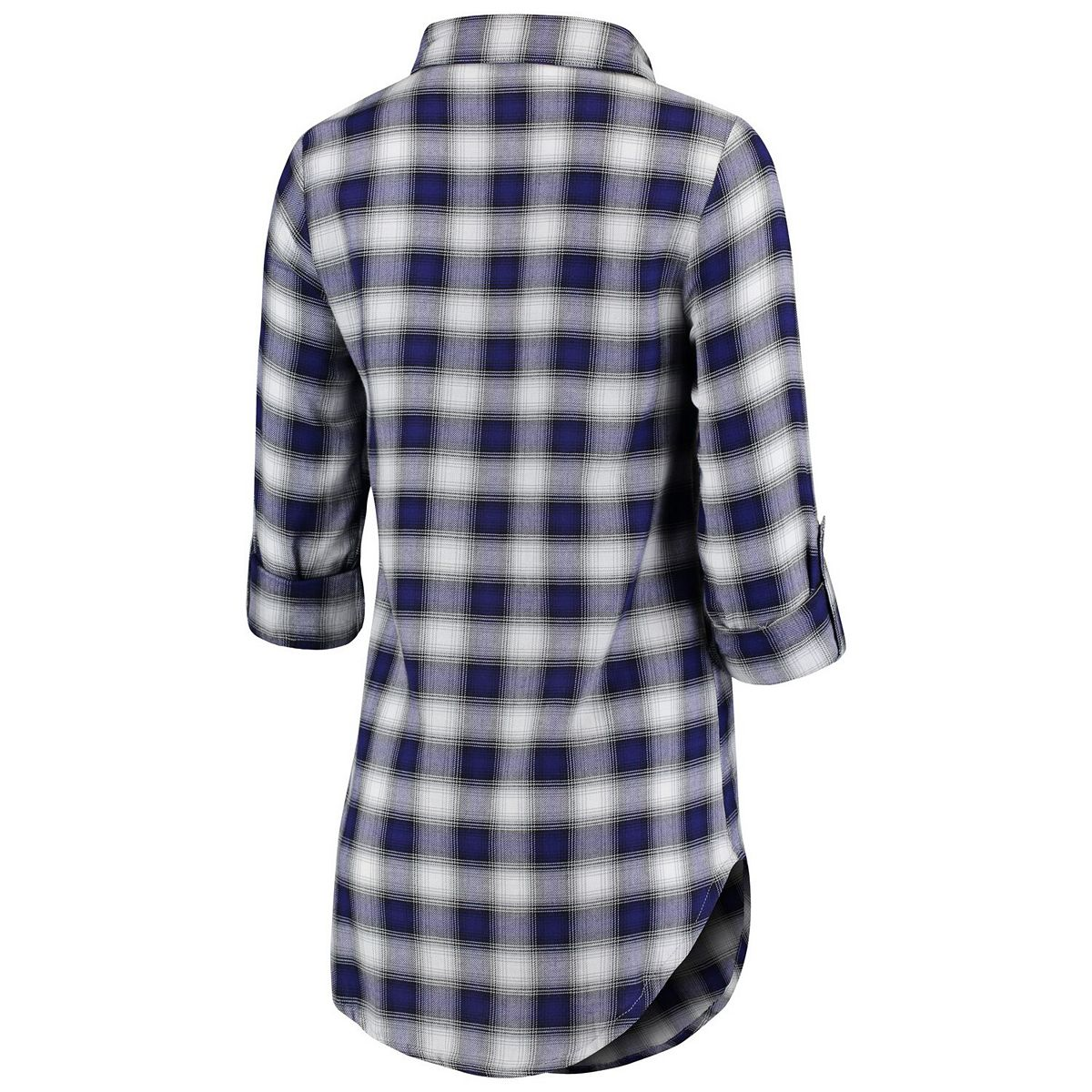 Women's Concepts Sport Purple/Black TCU Horned Frogs Forge Flannel Long Sleeve Button-Up Shirt ibhUZ