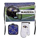 WinCraft Baltimore Ravens 3-Piece Barbecue Set