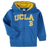 Toddler Blue UCLA Bruins Applique Arch & Logo Full-Zip Hoodie