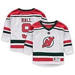 Youth Taylor Hall White New Jersey Devils Replica Player Jersey