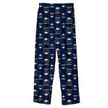 Youth Navy Buffalo Sabres Team Logo Printed Pajama Pants