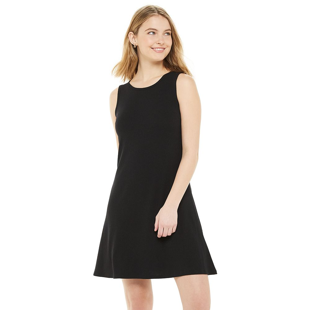 Juniors' SO® Keyhole Back Fit & Flare Dress