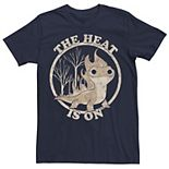 Disney's Frozen Men's 2 Salamander The Heat Is On Graphic Tee