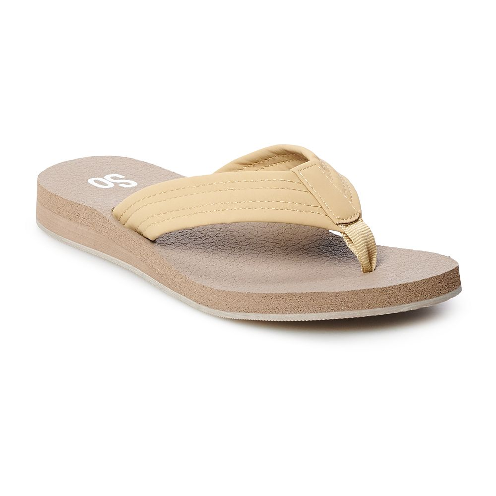 SO® Gorgeous Women's Thong Sandals