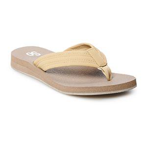 SO® Gorgeous Women's Thong Sandals