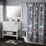 Vern Yip by SKL Home Fa La La Dogs Shower Curtain