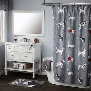 Vern Yip by SKL Home Fa La La Dogs Shower Curtain