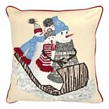 Rizzy Home Phoebe Throw Pillow