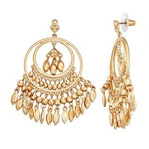 Sonoma Goods For Life® Gold Tone Beaded Chandelier Earrings