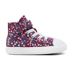 Toddler Girls' Converse Chuck Taylor All Star 1V Floral High Top Sneakers