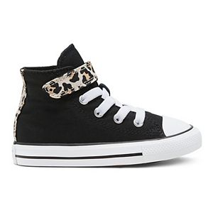 Toddler Girls' Converse Chuck Taylor All Star 1V Leopard Print High Tops